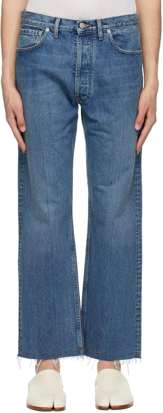 Maison Margiela 蓝色水洗牛仔裤