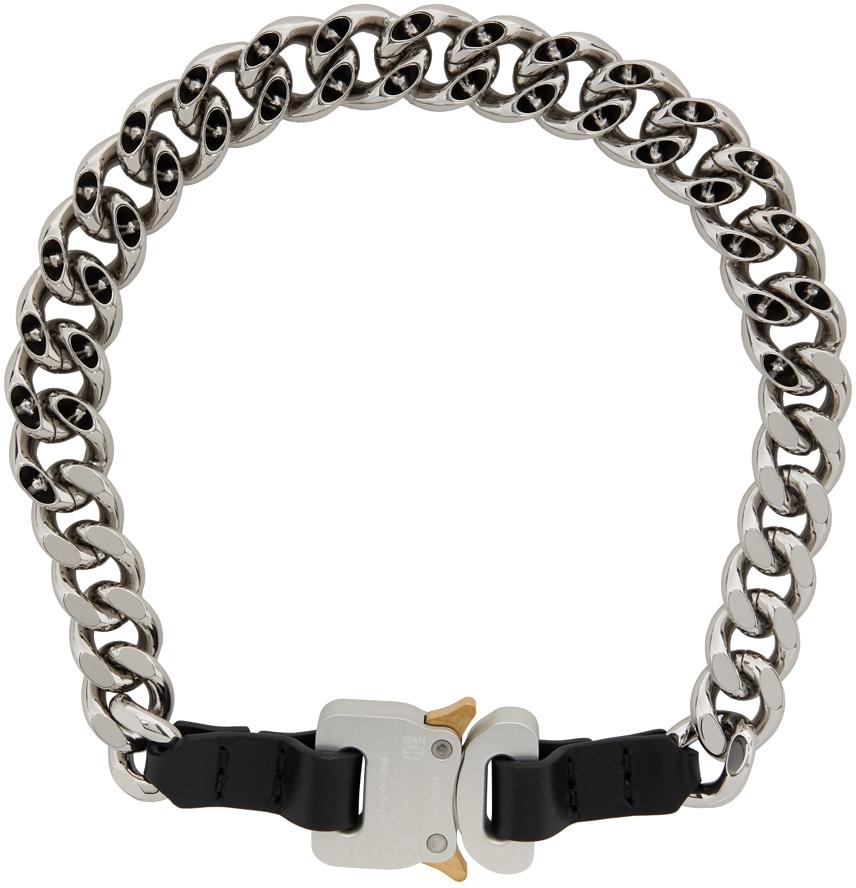 1017 ALYX 9SM 银色插扣项链
