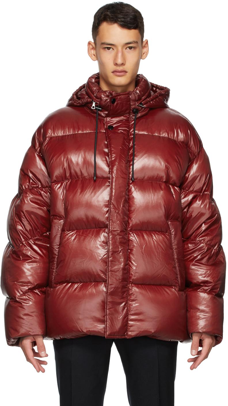 Dries Van Noten 红色填充夹克
