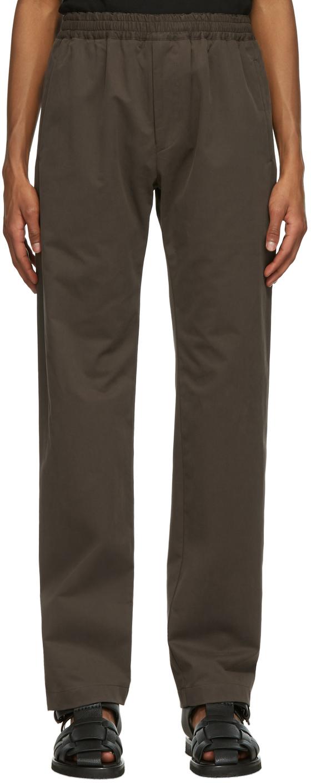 The Row 棕色 Josh 长裤