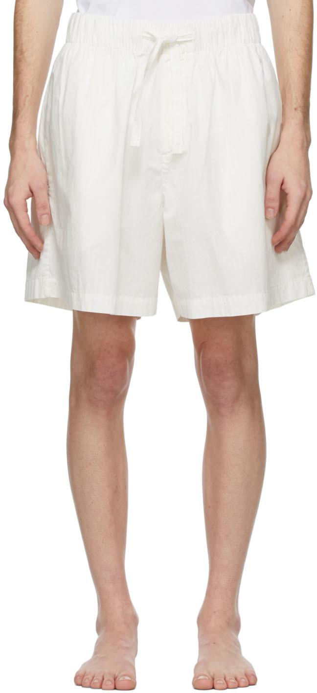 Tekla 白色有机棉睡裤