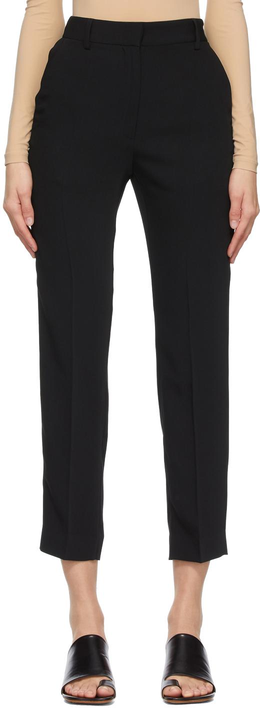 MM6 Maison Margiela 黑色 Fluid 长裤