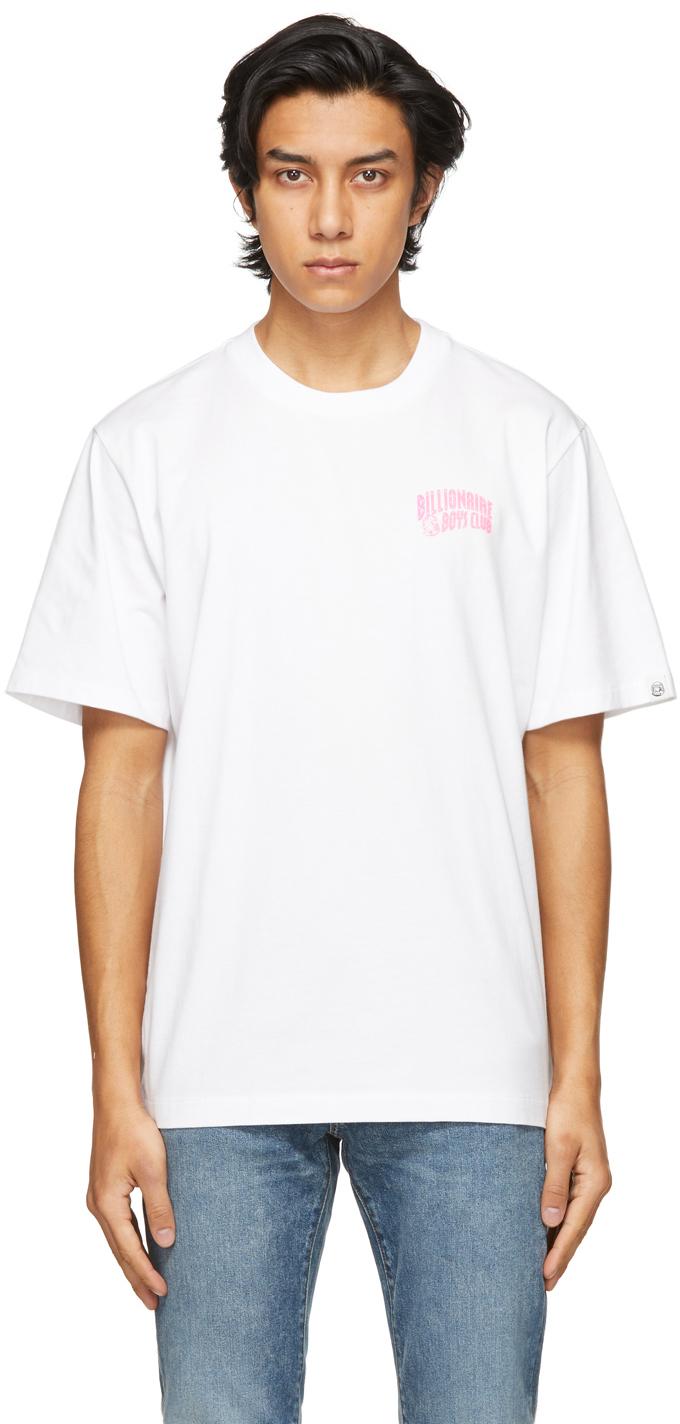 Billionaire Boys Club 白色 Small Arch Logo T 恤