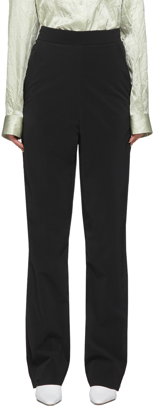 KASSL Editions SSENSE 独家发售黑色 Pop Oil 长裤