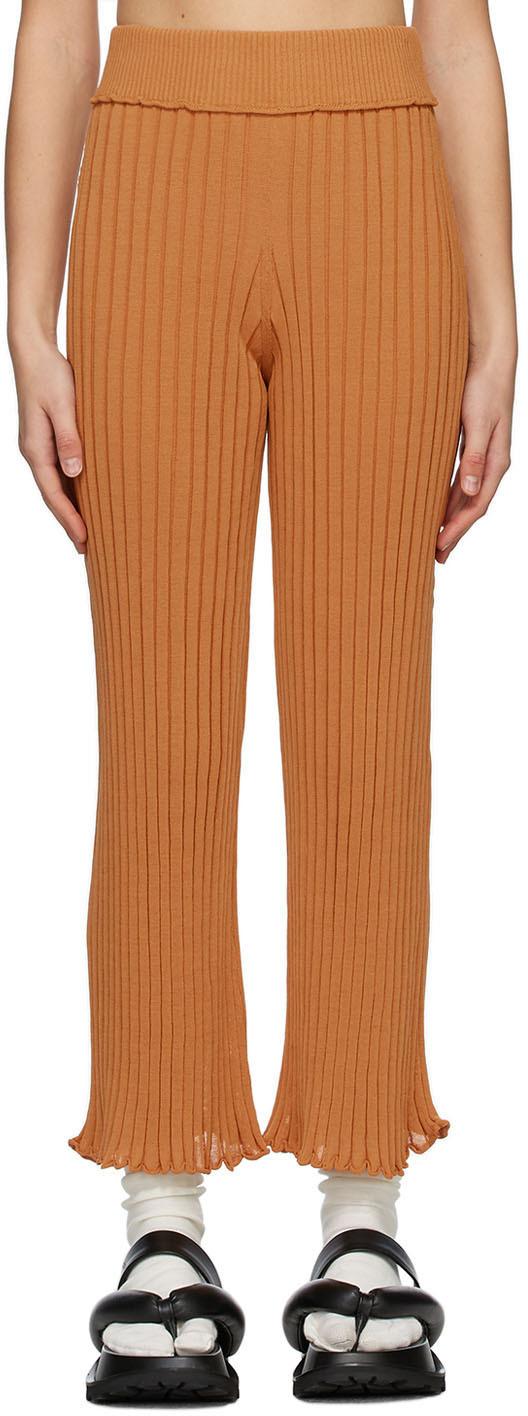 RUS SSENSE 独家发售黄褐色 Ombre 长裤