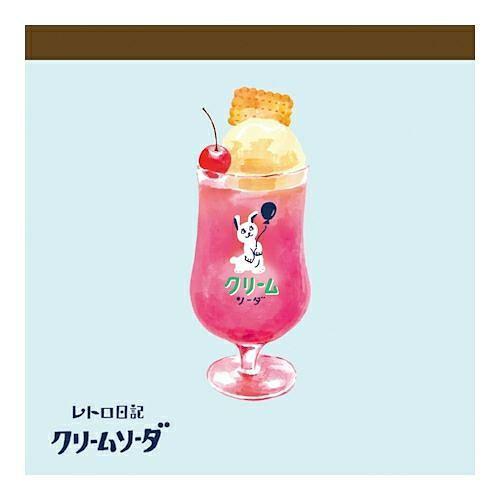 Wa-Life Retro Diary Memo Block/ Cream Soda Rabbit eslite誠品