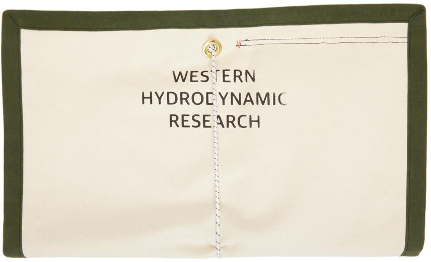 Western Hydrodynamic Research 灰白色 Fin 手拿包