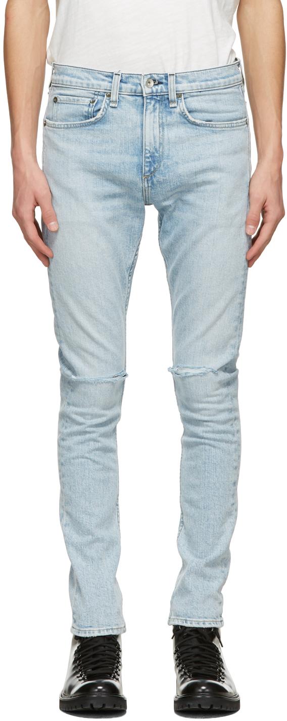 Rag & Bone 蓝色 Fit 1 牛仔裤