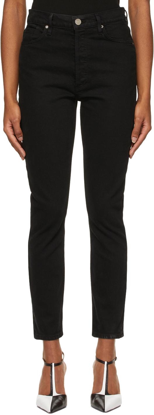 Goldsign 黑色 The High-Rise Slim 牛仔裤
