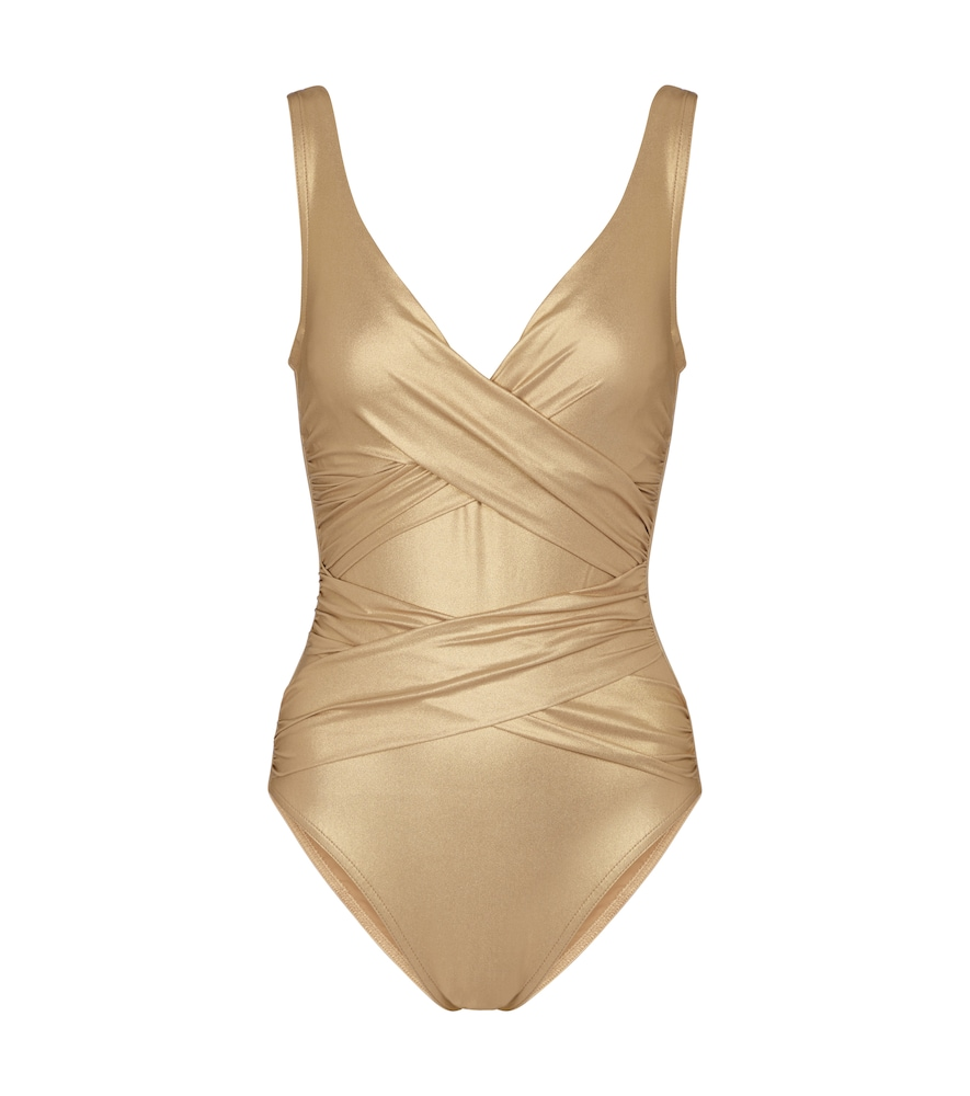 Exclusive to Mytheresa - Carmelle ruched swimsuit