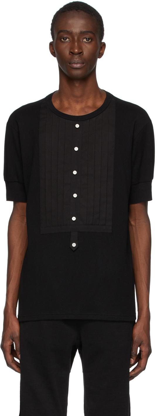 TAKAHIROMIYASHITA TheSoloist. 黑色 Bib T 恤