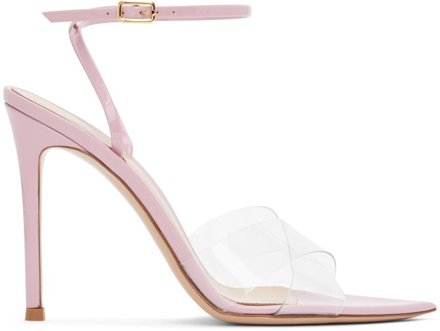 Gianvito Rossi 粉色 Stark 凉鞋