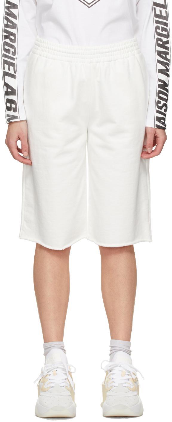 MM6 Maison Margiela SSENSE 独家发售灰白色运动短裤
