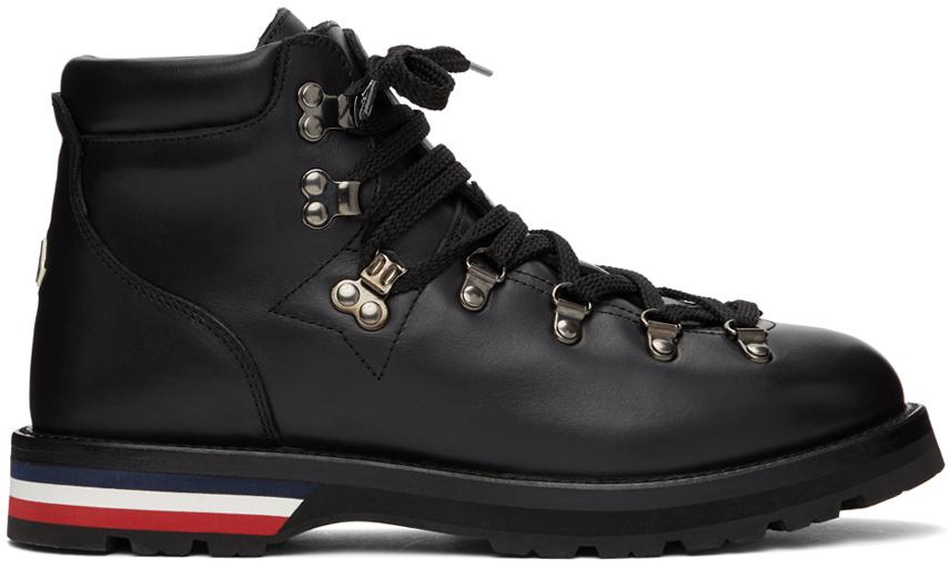 Moncler 黑色 Peak 踝靴