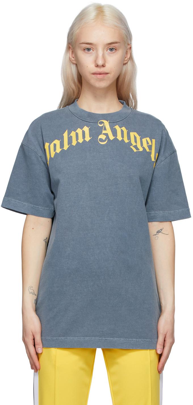 Palm Angels 海军蓝 Vintage T 恤