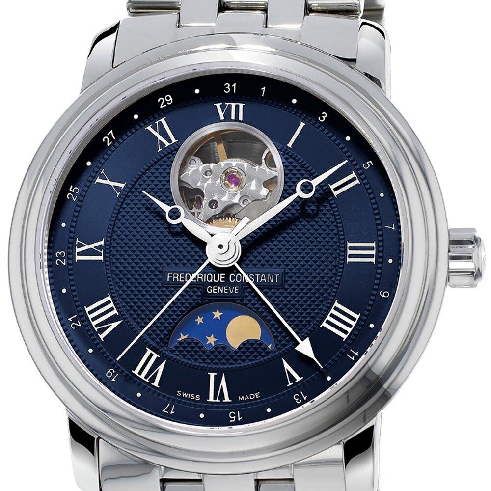 CONSTANT康斯登 月相開芯鏤空機械腕錶40mm(FC-335MCNW4P6B)