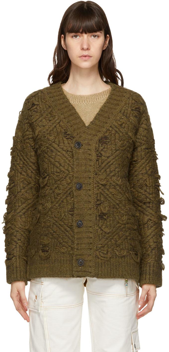Andersson Bell 棕色大廓形开衫
