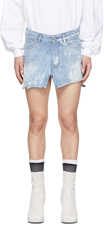 Random Identities 蓝色牛仔半身裙裤
