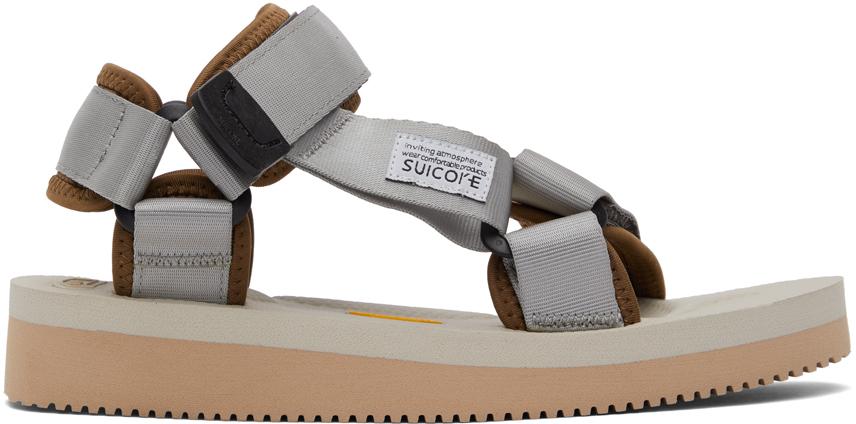 Suicoke 灰色 DEPA-V2 凉鞋