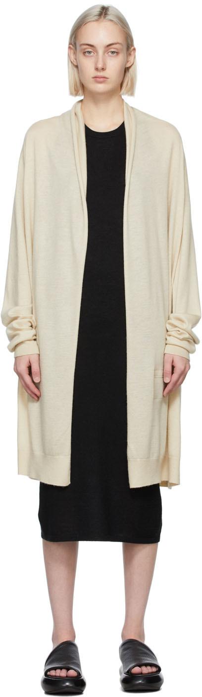 Frenckenberger 灰白色 Straight 羊绒开衫