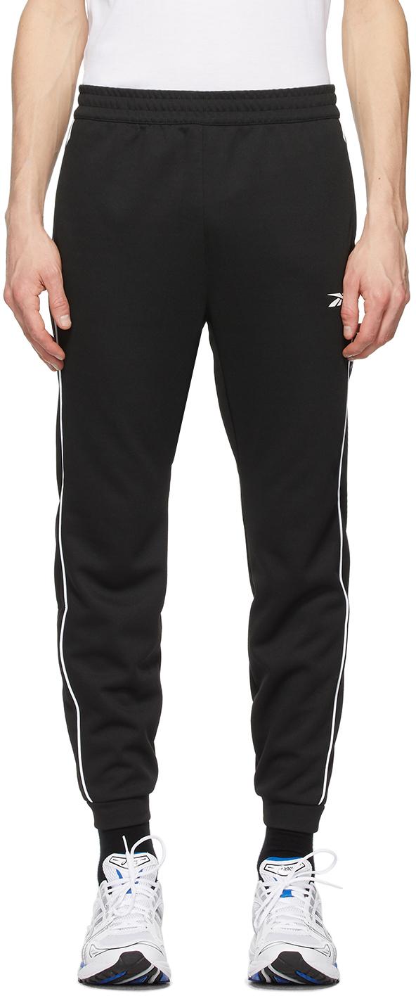 Reebok Classics 黑色 Double Knit Workout 运动裤