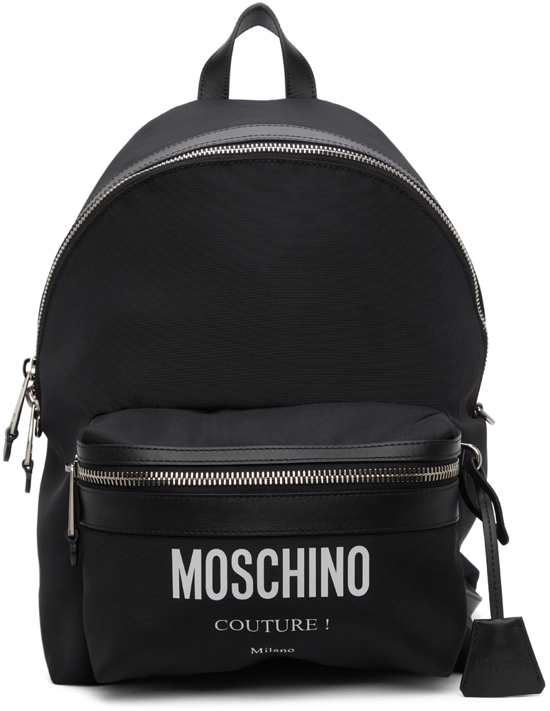 Moschino 黑色 Couture 双肩包