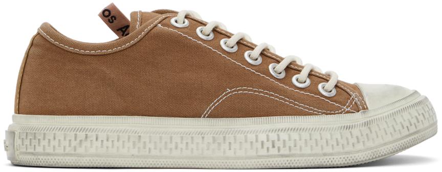Acne Studios 棕色帆布运动鞋