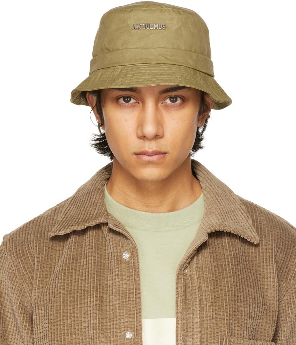 Jacquemus 绿色 Le Bob Gadjo 渔夫帽