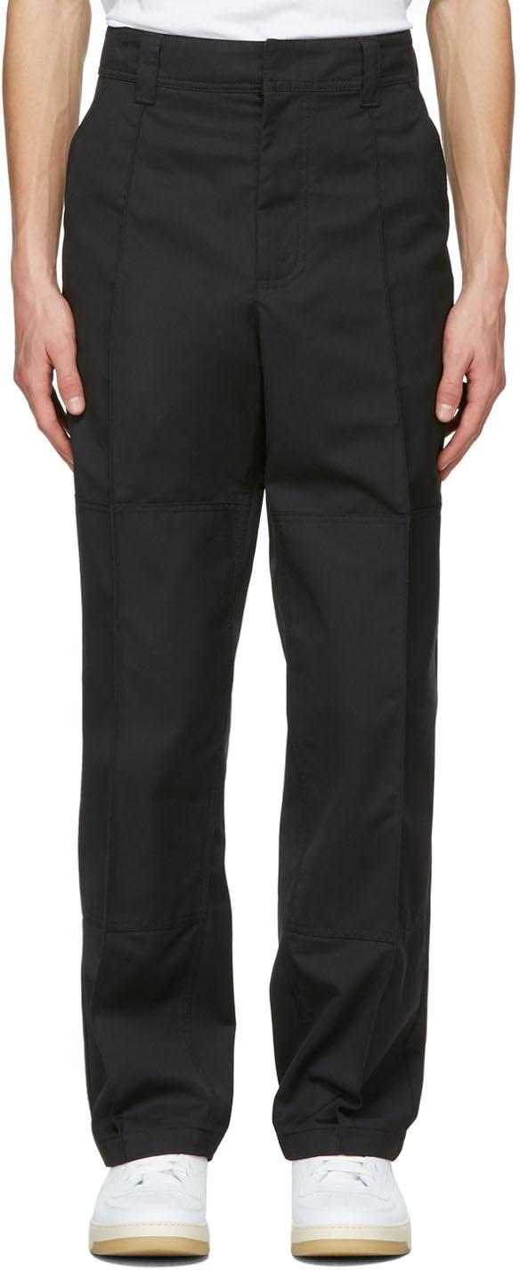 Acne Studios 黑色 Workwear 长裤