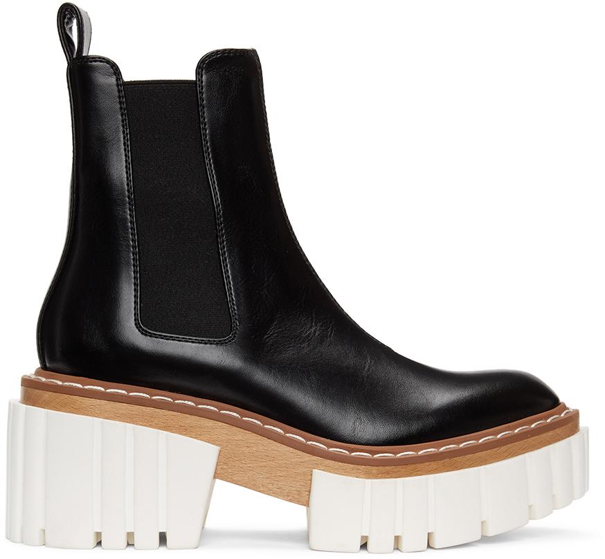 Stella McCartney 黑色 Emilie 切尔西靴