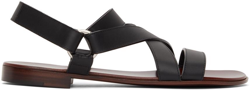 Giuseppe Zanotti 黑色 Liam 凉鞋