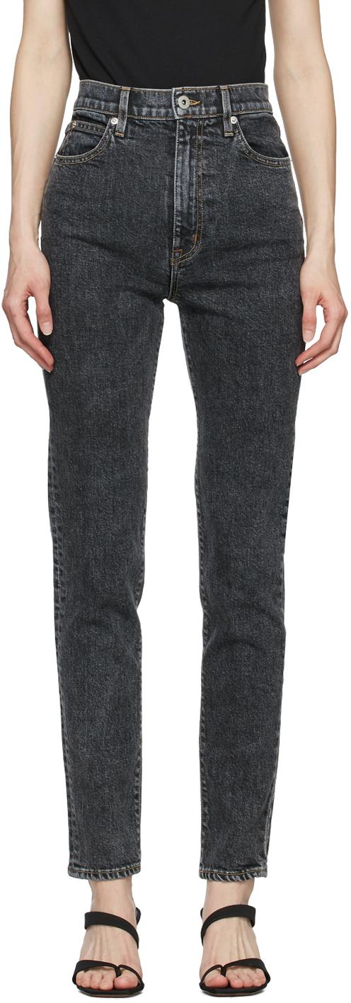 SLVRLAKE 灰色 Beatnik 牛仔裤