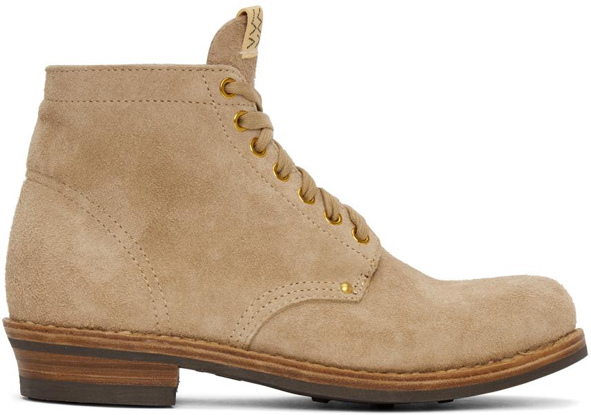 Visvim 驼色 Brigadier Folk 踝靴