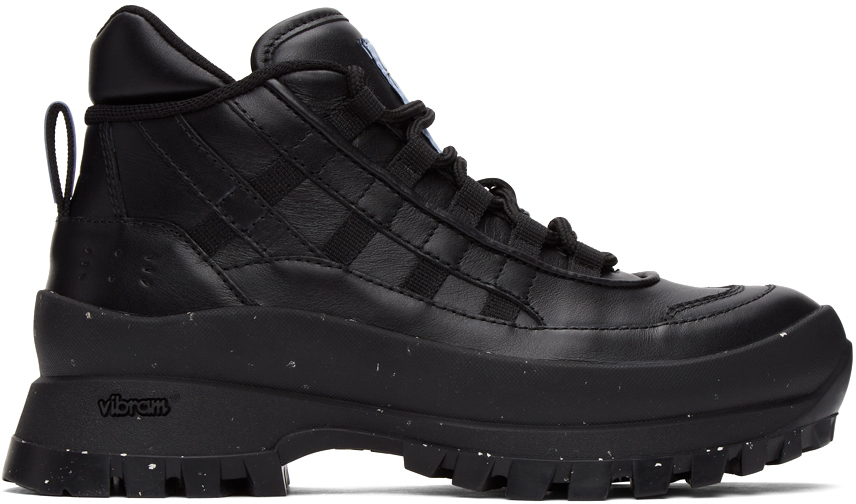 MCQ 黑色 Fantasma 系列 FA-5 Hiking 踝靴