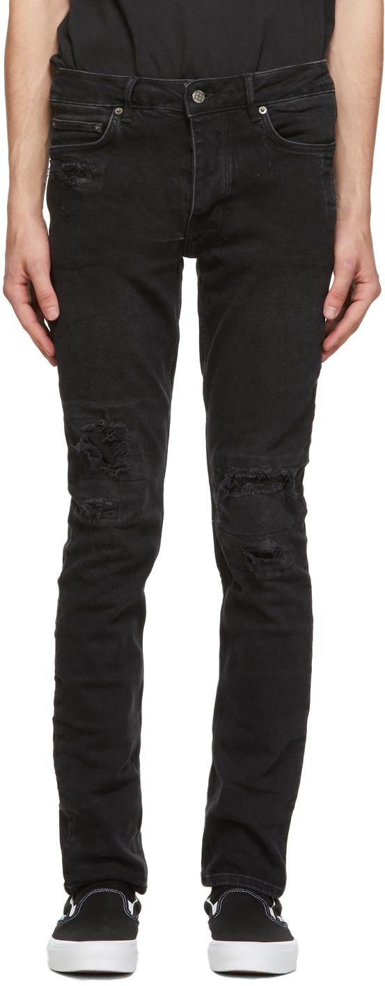 Ksubi 黑色 Chitch Boneyard 牛仔裤