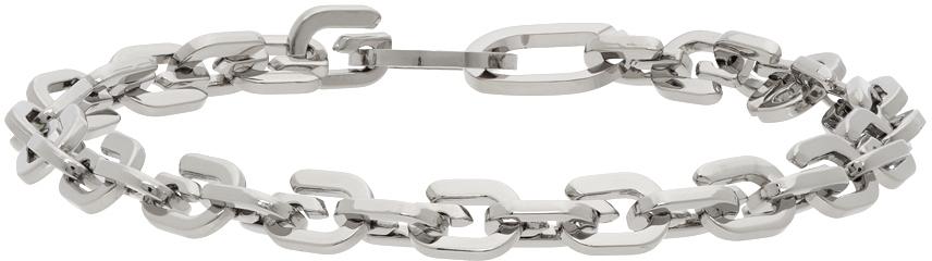 Givenchy 银色 G Link 手链