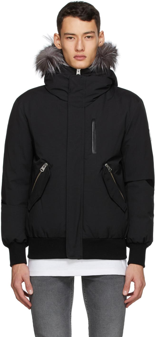 Mackage 黑色 Dixon-XR 羽绒夹克