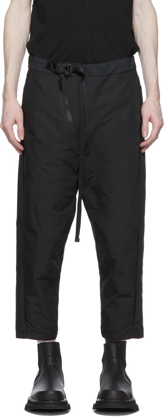 Julius 黑色 NILøS Ox 束带长裤