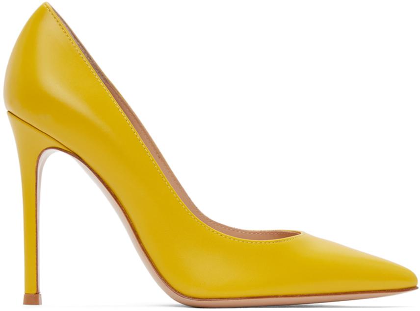 Gianvito Rossi 黄色 Gianvito 高跟鞋