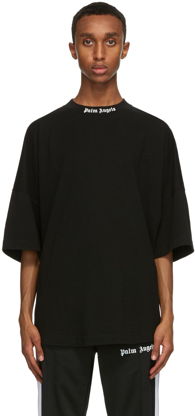 Palm Angels 黑色 Classic Logo T 恤