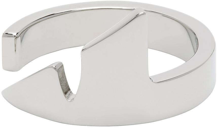 Fendi 银色 Corner Bug 戒指