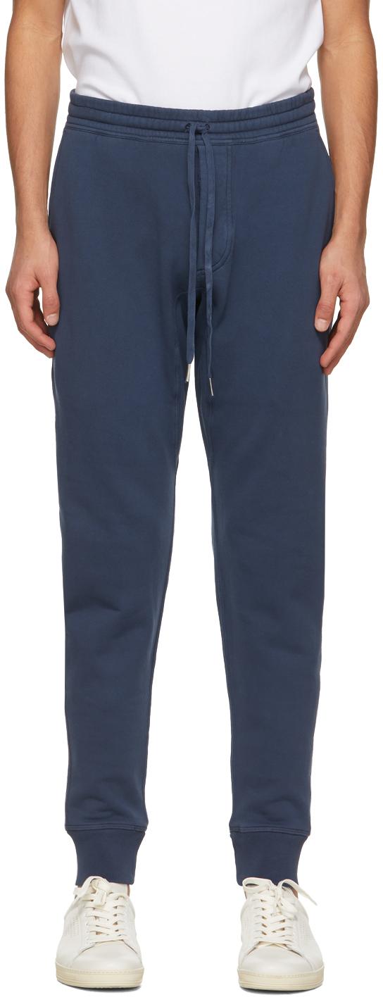 TOM FORD 蓝色抽绳运动裤