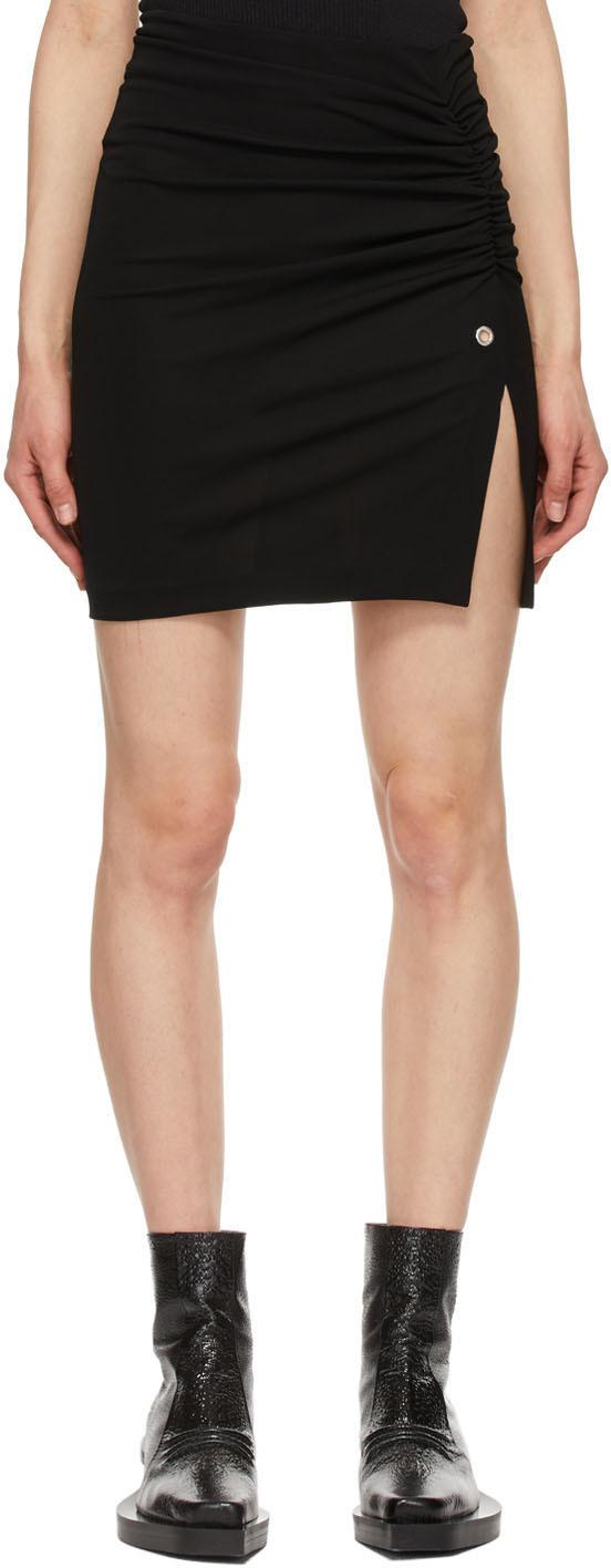 1017 ALYX 9SM 黑色徽标短裙