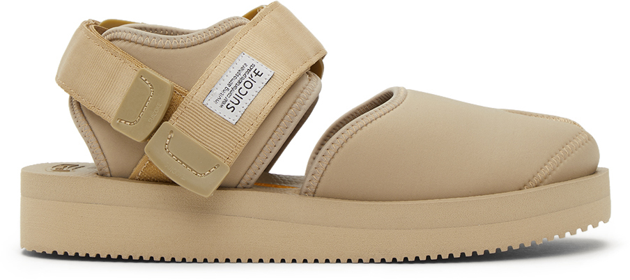 Suicoke 驼色 BITA-V 凉鞋