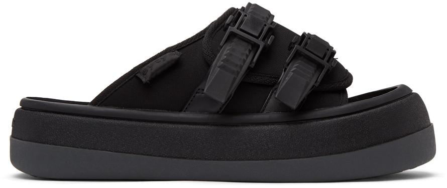 Eytys SSENSE 独家发售黑色 Capri 凉鞋
