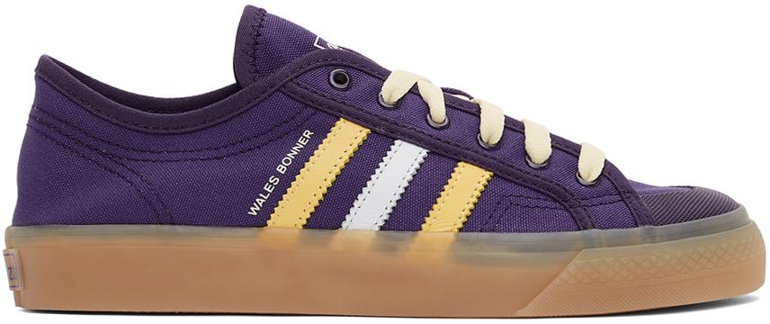 Wales Bonner 紫色 adidas 联名 Nizza 运动鞋