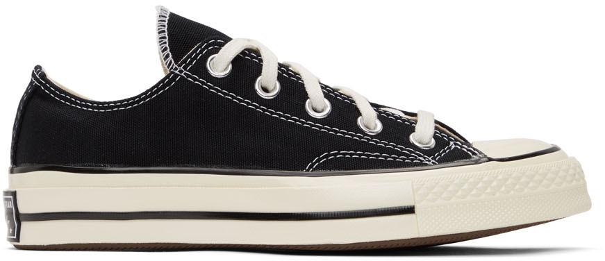 Converse 黑色 Chuck 70 OX 运动鞋