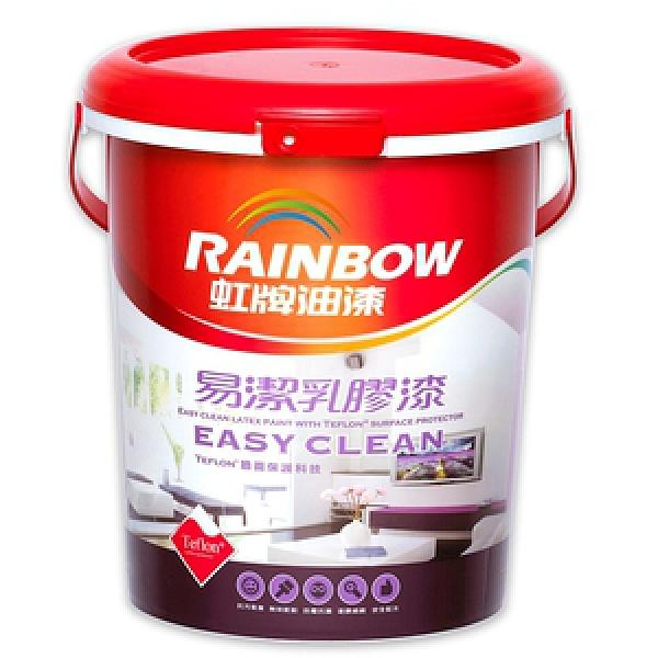 (組)彩虹屋易潔乳膠漆 白色 10L-2入