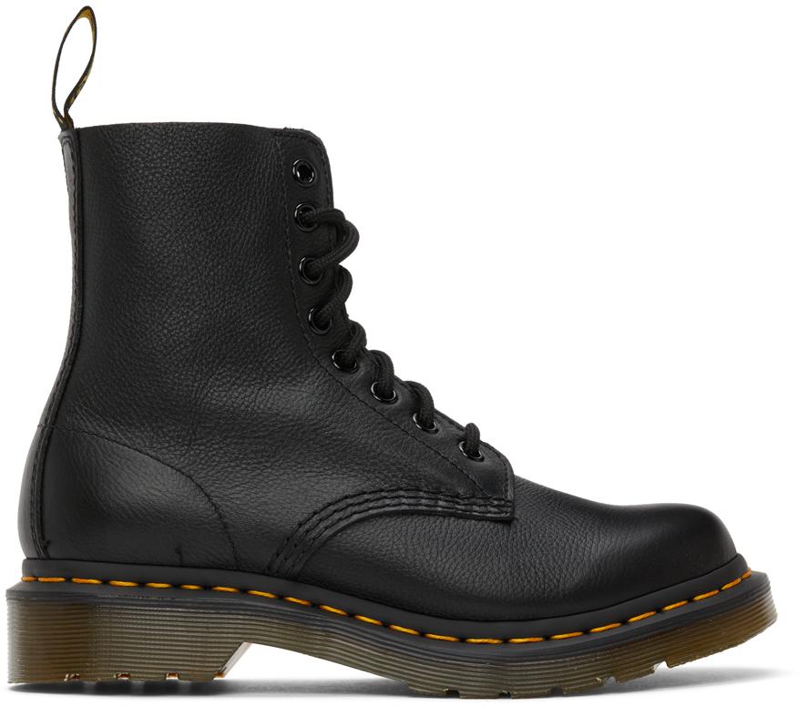 Dr. Martens 黑色 1460 Pascal 踝靴