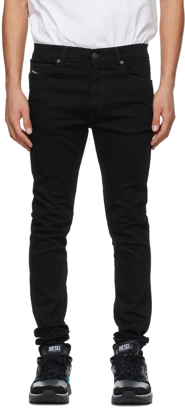 Diesel 黑色 D-Istort 069EF 牛仔裤